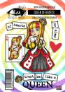 Visible Image Clear Stamp Set - Wonderland - Queen Of Hearts
